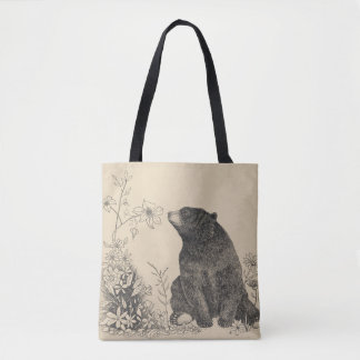 Stop and Smell the Flowers Tote Bag2