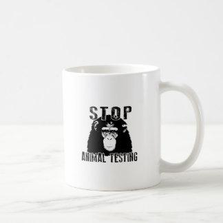 Stop Animal Testing - Chimpanzee Coffee Mug