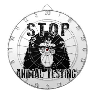 Stop Animal Testing - Chimpanzee Dartboard