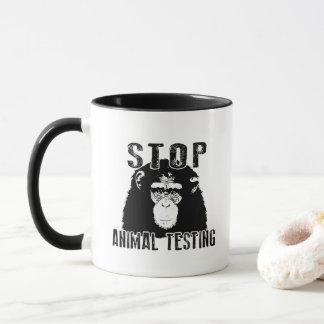 Stop Animal Testing - Chimpanzee Mug
