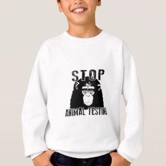 Stop Animal Testing - Chimpanzee Sweatshirt