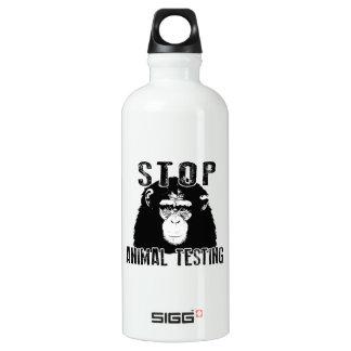 Stop Animal Testing - Chimpanzee Water Bottle