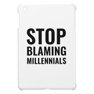 Stop Blaming Millennials iPad Mini Cover