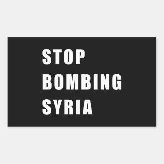 Stop Bombing Syria Sticker