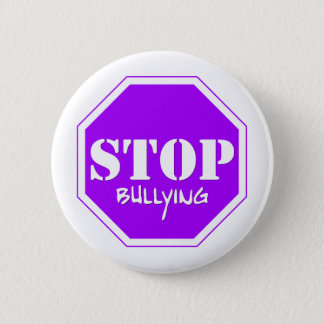 Stop Bullying 2 Inch Round Button