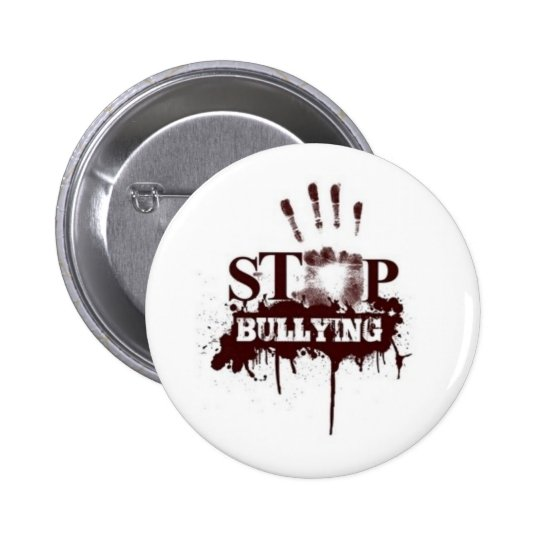 Stop bullying badge 2 inch round button
