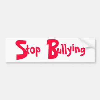 Stop Bullying - Bumper Sticker