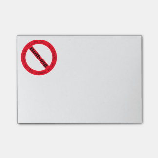 Stop Bullying-Logo by Shirley Taylor Post-it Notes