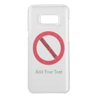 Stop Bullying-Logo by Shirley Taylor Uncommon Samsung Galaxy S8 Plus Case
