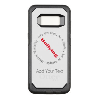 Stop Bullying-Outline by Shirley Taylor OtterBox Commuter Samsung Galaxy S8 Case