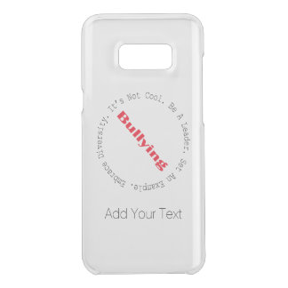 Stop Bullying-Outline by Shirley Taylor Uncommon Samsung Galaxy S8 Plus Case