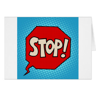 Stop Card