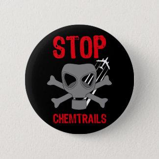 STOP CHEMTRAILS 2 INCH ROUND BUTTON