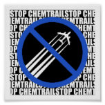 Stop Chemtrails! Poster