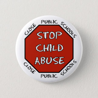 Stop Child Abuse 2 Inch Round Button