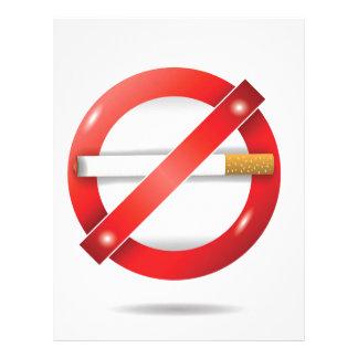 stop cigarette letterhead