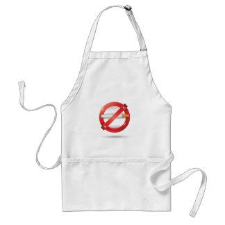 stop cigarette standard apron