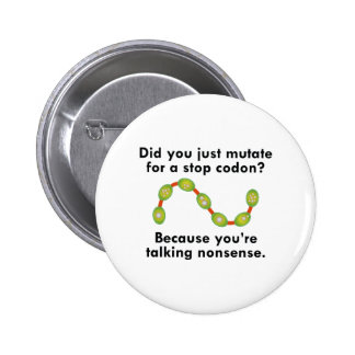 Stop Codon 2 Inch Round Button