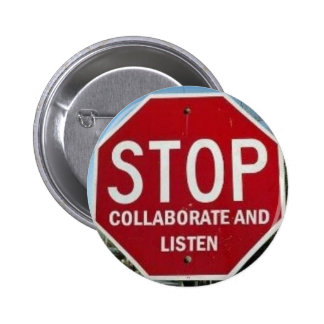 STOP Collaborate and Listen Buttons