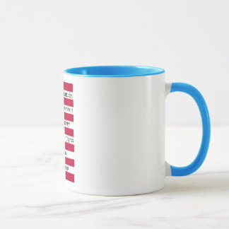 STOP COLORING OUTSIDE THE LINES Standard Mug