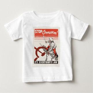 Stop Communism Propaganda Apparel Baby T-Shirt