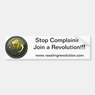 Stop Complaining Sticker