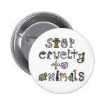 Stop Cruelty pin