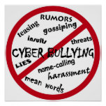 Stop Cyber Bullying Poster