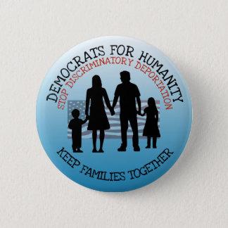 Stop Discriminator Deportation Immigration Button
