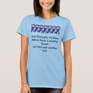 Stop Domestic Violence . T-Shirt