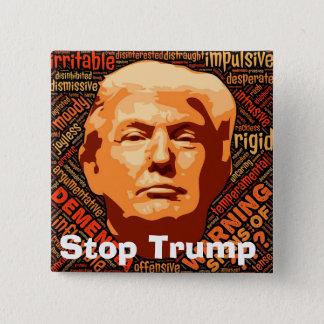 Stop Donald Trump 2 Inch Square Button