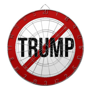 Stop Donald Trump Anti-Trump Dartboard