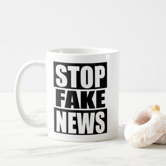 Stop Fake News Coffee Mug