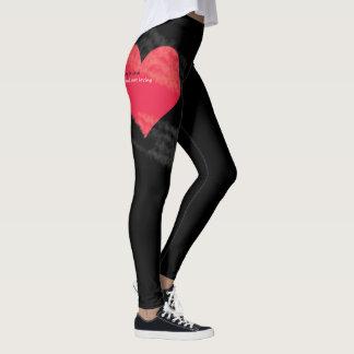 stop falling in love Leggings