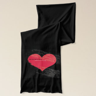 stop falling in love Scarf