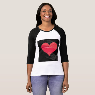 stop falling in love Women's multi-color midsleeve T-Shirt