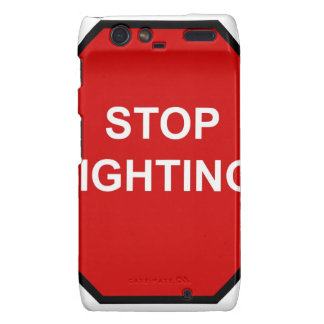Stop Fighting Motorola Droid RAZR Case