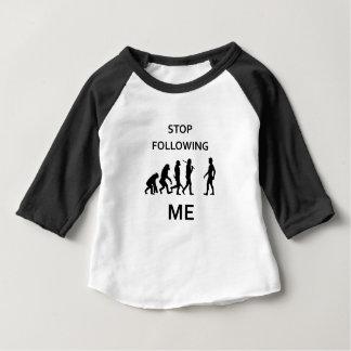 stop following me baby T-Shirt