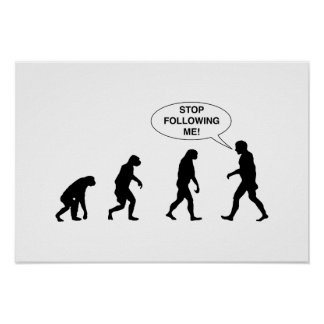 Stop Following Me Poster