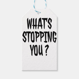 Stop Gift Tags