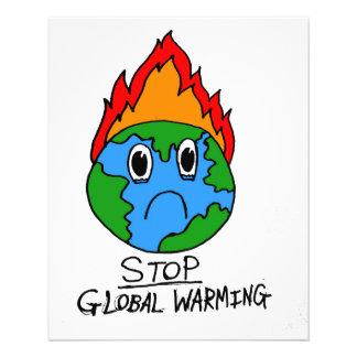 Stop Global Warming Flyer