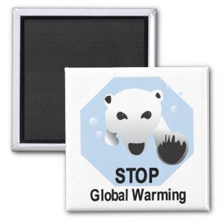 Stop Global Warming magnet