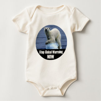 Stop Global Warming Now Baby Bodysuit