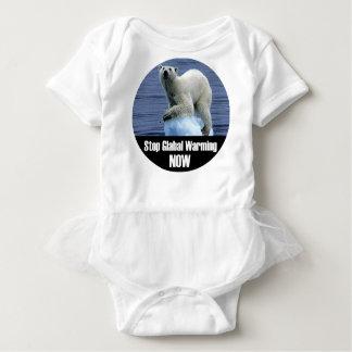 Stop Global Warming Now Baby Bodysuit
