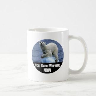 Stop Global Warming Now Coffee Mug