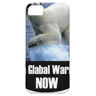 Stop Global Warming Now iPhone 5 Case