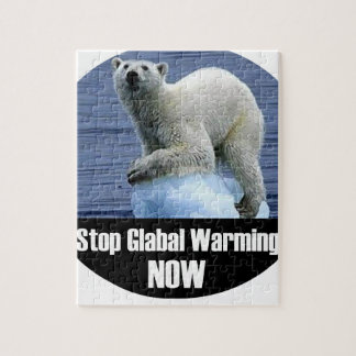 Stop Global Warming Now Jigsaw Puzzle