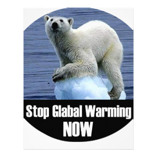 Stop Global Warming Now Letterhead