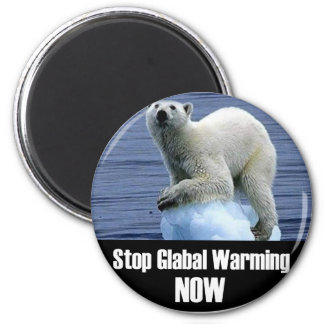 Stop Global Warming Now Magnet
