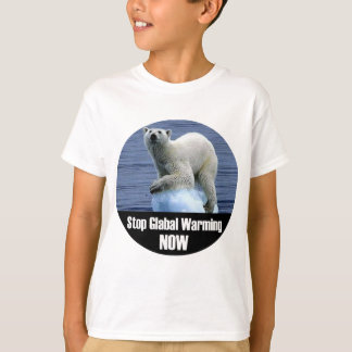 Stop Global Warming Now T-Shirt